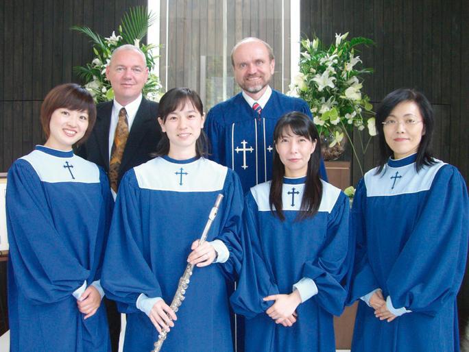 聖歌隊の写真